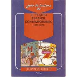 EL TEATRO ESPAÑOL CONTEMPORANEO (1939 - 1989