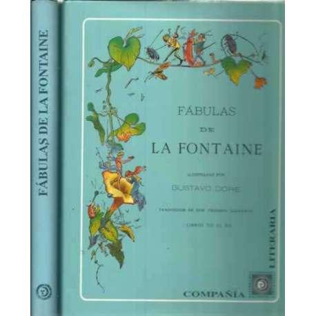 FÁBULAS DE LA FONTAINE 2 tomos I/. Libros del I al VI 2/. Libros VII al XII. Facsimil de la Edic. de 1885
