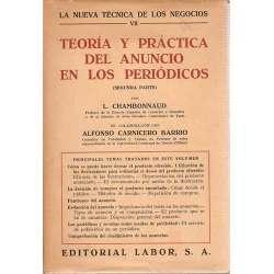 TEORÍA Y PRÁCTICA DEL ANUNCIO EN LOS PERIODICOS (Segunda Parte).