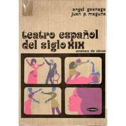TEATRO ESPAÑOL DEL SIGLO XIX. Análisis de obras