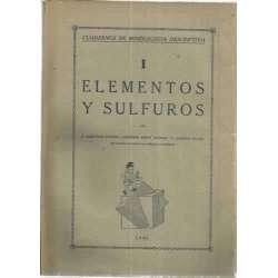 ELEMENTOS Y SULFUROS. Cuadernos de Mineralogía descriptiva
