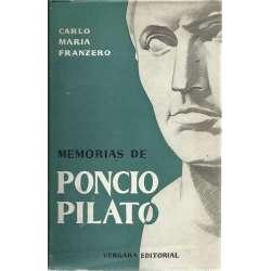 Memorias de Poncio Pilato