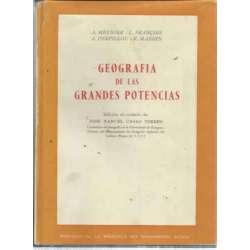 GEOGRAFÍA DE LAS GRANDES POTENCIAS