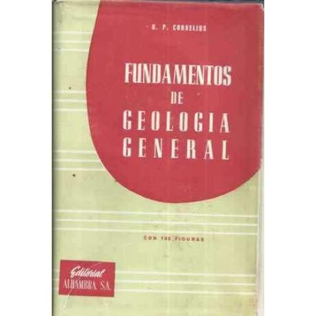 FUNDAMENTOS DE GEOLOGÍA GENERAL