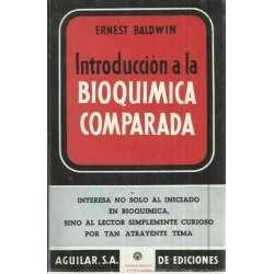INTRODUCCIÓN A LA BIOQUÍMICA COMPARADA