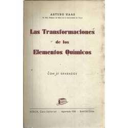 LAS TRANSFORMACIONES DE LOS ELEMENTOS QUÍMICOS