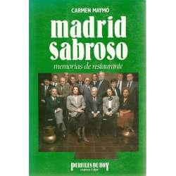 MADRID SABROSO (MEMORIAS DE RESTAURANTE)
