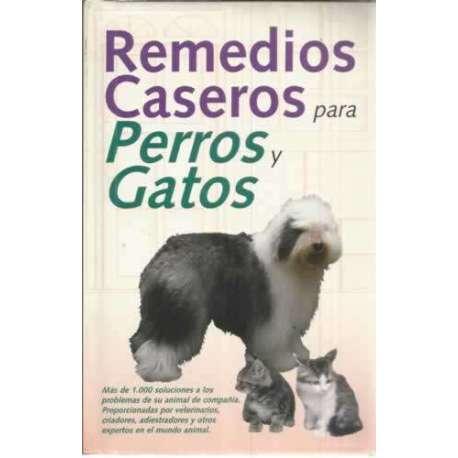 Remedios caseros para perros y gatos
