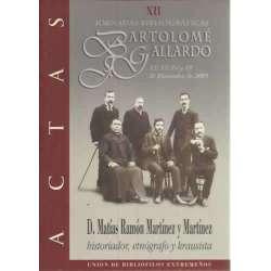 D. Matías Ramón Martínez y Martínez. Historiador, etnógrafo y krausista
