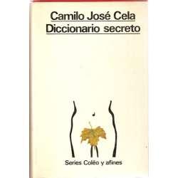 DICCIONARIO SECRETO. Tomo I/. Series Coleo y Afines