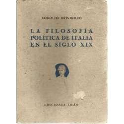 La filosofía política de Italia en el siglo XIX