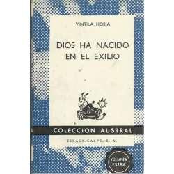 DIOS HA NACIDO EN EL EXILIO