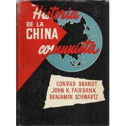 HISTORIA DE LA CHINA COMUNISTA