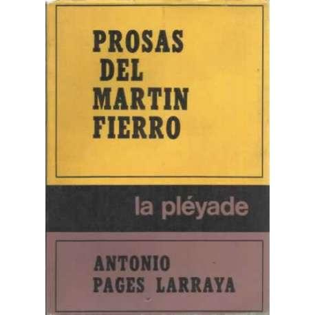PROSAS DEL MARTÍN FIERRO