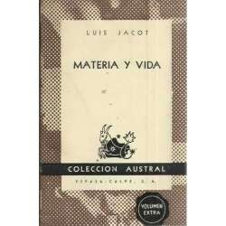MATERIA Y VIDA
