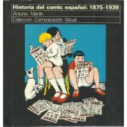 HISTORIA DEL COMIC ESPAÑOL, 1875-1939