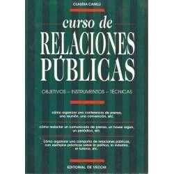 Curso de relaciones públicas. Objetivos, instrumentos, técnicas