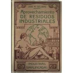 APROVECHAMIENTO DE RESIDUOS INDUSTRIALES