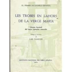 LES TROBES EN LAHORS DE LA VERGE MARIA