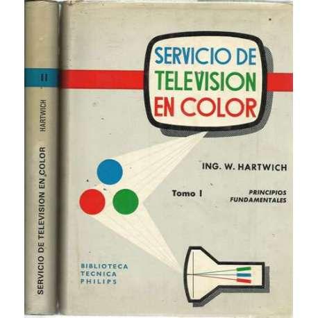 SERVICIO DE TELEVISIÓN EN COLOR. 2 tomos