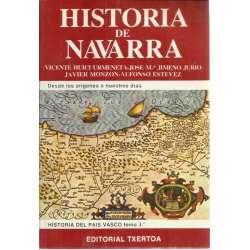 HISTORIA DE NAVARRA. Desde los orígenes a nuestros días