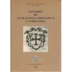 ESTUDIOS DE GENEALOGÍA, HERÁLDICA Y NOBILIARIA