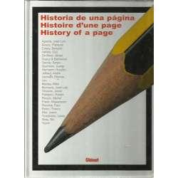 Historia de una página / Histoire d'une page / History of a page