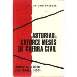 Asturias: Catorce meses de Guerra Civil