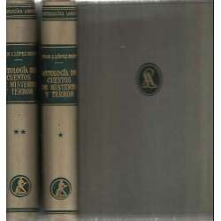 Antología de cuentos de misterio y terror. 2 tomos