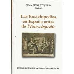 LAS ENCICLOPEDIAS EN ESPAÑA ANTES DE L´encyclopédie