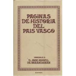 PÁGINAS DE HISTORIA DEL PAÍS VASCO