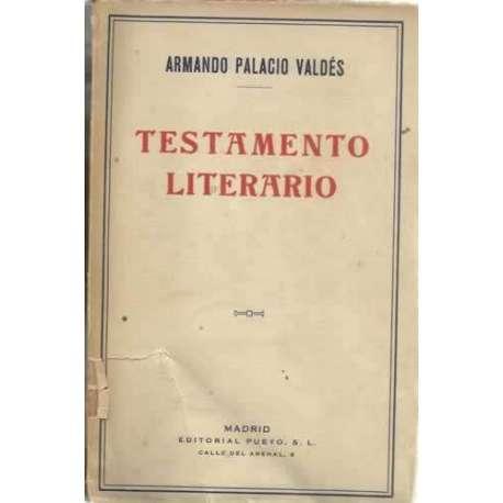 TESTAMENTO LITERARIO