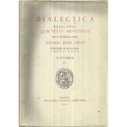 DIALECTICA RESOLUTIO CUM TEXTU ARISTOTELIS
