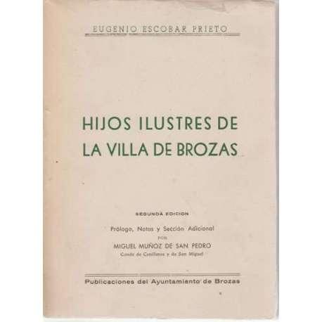 Hijos ilustres de la Villa de Brozas