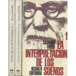 LA INTERPRETACIÓN DE LOS SUEÑOS 3 tomos