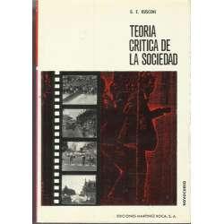 TEORÍA CRÍTICA DE LA SOCIEDAD.