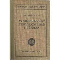 MOVIMIENTOS DE TIERRAS, GALERÍAS Y TÚNELES