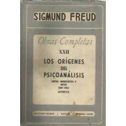 OBRAS COMPLETAS, XXII: LOS ORÍGENES DEL PSICOANÁLISIS. Cartas, manuscritos y notas (1887-1902)