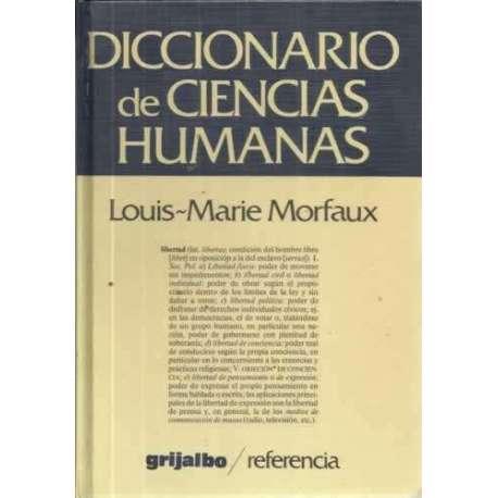 DICCIONARIO DE CIENCIAS HUMANAS