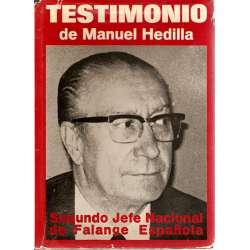 TESTIMONIO DE MANUEL HEDILLA