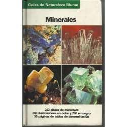 MINERALES. 223 clases de minerales, 363 ilustraciones en color y 250 en negro, 30 páginas de tablas de determinación
