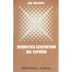 SEMÁNTICA GENERATIVA DEL ESPAÑOL
