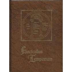FASCICULUS TEMPORUM COMPENDIO CRONOLOGICO