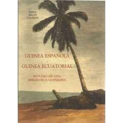 GUINEA ESPAÑOLA, GUINEA ECUATORIAL. Estudio de una biblioteca Guineana