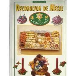 DECORACION DE MESAS CON PASTA DE SAL