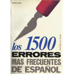 LOS 1500 ERRORES MAS FRECUENTES DE ESPAÑOL