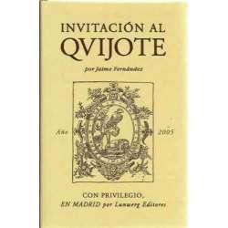 INVITACIÓN AL QUIJOTE