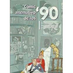 CÓMIC ALTERNATIVO DE LOS '90. La Herencia del Underground por Oscar Palmer