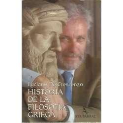 HISTORIA DE LA FILOSOFÍA GRIEGA (Los presocráticos)