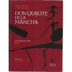 Don Quijote de la Mancha. Ilustrado por Rep